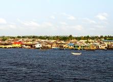 Lagos flod Royaltyfria Bilder