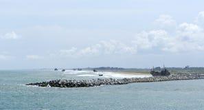 Lagos-Fluss Stockbild