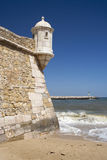 Lagos Fort and Harbour, Algarve, Portugal Stock Photo