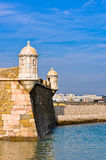 Lagos Harbor Fortress Royalty Free Stock Photo