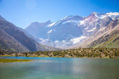 Lagos Kulikalon, montañas de Fann, turismo, Tayikistán Fotos de archivo