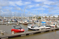 Lagos marina Royaltyfria Foton
