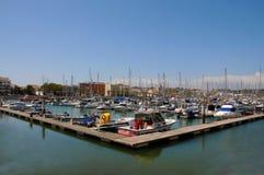 Lagos marina Arkivfoto