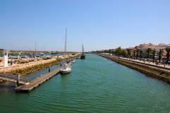 Lagos marina Arkivfoton