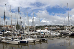 Lagos Marina, Lagos, Algarve, Portugal Royalty Free Stock Images