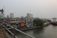 Lagos Nigeria obrazy royalty free