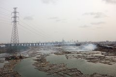 Lagos Nigeria lizenzfreie stockfotos