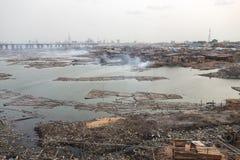 Lagos Nigeria stockfotos
