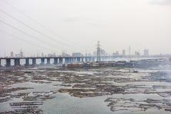 Lagos Nigeria stockbilder