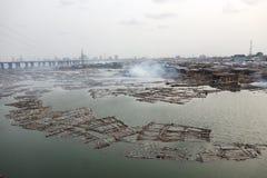 Lagos Nigeria Fotografia Stock Libera da Diritti