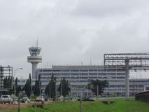 Lagos Nigeria, August 30, 2016: Murtala Mohammed international airport Lagos Royalty Free Stock Images