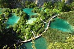 Lagos parque nacional, Croatia Plitvice Fotos de archivo libres de regalías