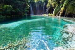 Lagos parque nacional Plitvice, Croatia foto de stock
