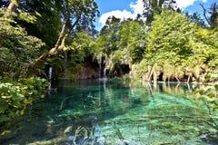 Lagos parque nacional Plitvice, Croatia fotos de stock