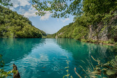 Lagos Plitvice, Croatia Fotos de Stock Royalty Free