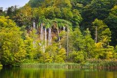 Lagos Plitvice em Croatia fotos de stock