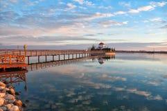 lagos porto Royaltyfri Bild