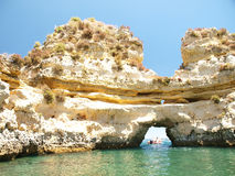 Lagos-Portugal Royalty Free Stock Photos