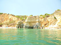 lagos portugal Royaltyfri Foto
