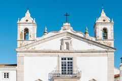 LAGOS, PORTUGAL - CIRCA MEI 2018: Vooraanzicht van Santa Maria Royalty-vrije Stock Afbeelding