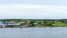 Lagos river. View of lagos river in nigeria Royalty Free Stock Image