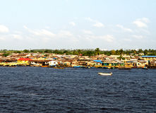 Lagos river Royalty Free Stock Images
