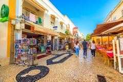 Lagos stad Portugal arkivfoto