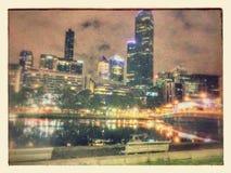 Lagos sul Melbourne imagem de stock