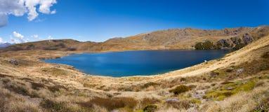 Lagos Sylvester en el parque nacional de Kahurangi, NZ fotos de archivo libres de regalías