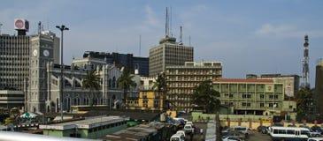 Lagos van de binnenstad Stock Fotografie