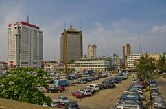 Lagos van de binnenstad Royalty-vrije Stock Afbeelding