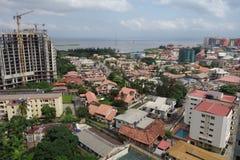 Lagos. View on Ikoyi, Lagos, Nigeria Royalty Free Stock Photography