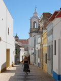 Lagos village, Portugal Stock Images