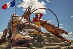 A lagosta a maior do ` s do mundo - Shediac Imagens de Stock