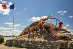 A lagosta a maior do ` s do mundo - Shediac Imagens de Stock Royalty Free