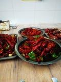 Lagostas vermelhas do pântano Imagem de Stock Royalty Free