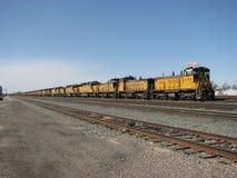 lagrade lokomotiv Royaltyfria Bilder
