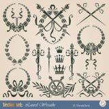 lagrarkranar royaltyfri illustrationer