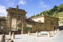 Lagrasse, Francia Foto de archivo libre de regalías