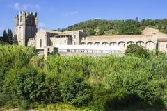 Lagrasse, Francia Imagen de archivo