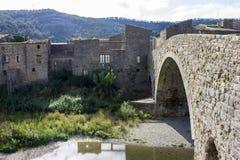 Lagrasse, Frankreich Stockbilder