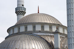 Large Mosque (detail), Turkey Royalty Free Stock Photos