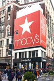 Lagret för Macy ` s i Herald Square, New York City Royaltyfri Fotografi