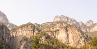 Lagret under den sceniska klippan (Yaxiaku) Arkivbild