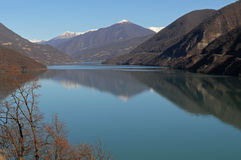 lagring för ananurigeorgia lake Arkivbilder