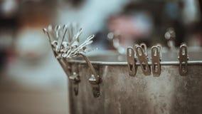 Lagring för kylare för rostfritt stålhinkis royaltyfria bilder