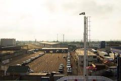 Lagringsområdet för transport Royaltyfri Foto