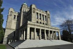 Lagstiftnings- byggnad, Victoria, British Columbia, Kanada Arkivfoto