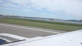 LaGuardia landning lager videofilmer