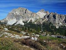 Laguazoi flecika i Laguazoi Grande szczyt Fotografia Stock